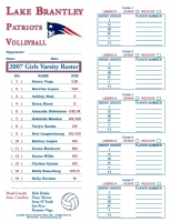 VolleyBall Roster Cards Full Page (50)