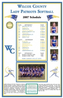 Pack of 200 Team Schedule Posters